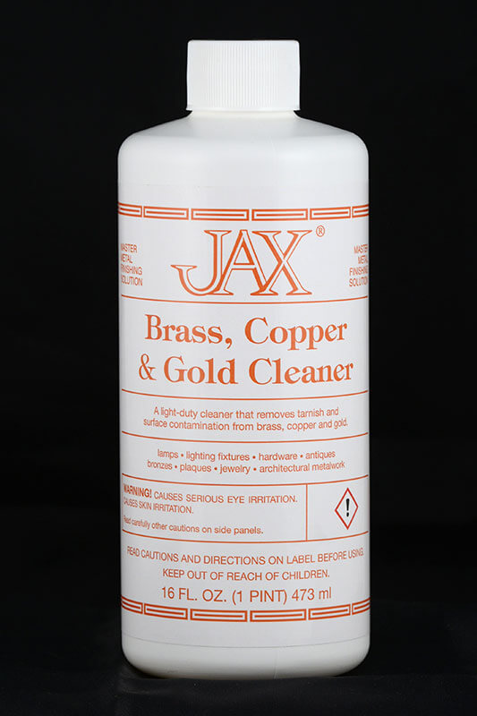 JAX Brass Copper Gold Cleaner