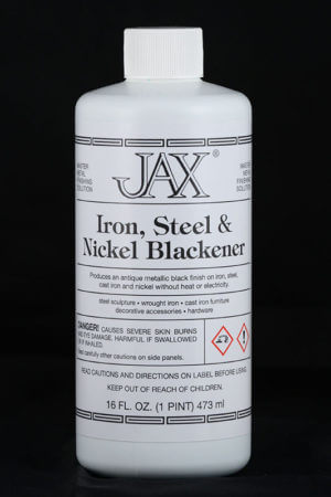 JAX Iron, Steel and Nickel Blackener