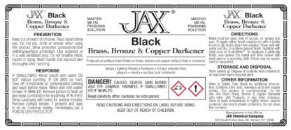 JAX Black label
