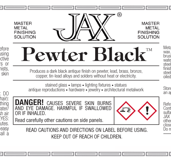 JAX Pewter Black label