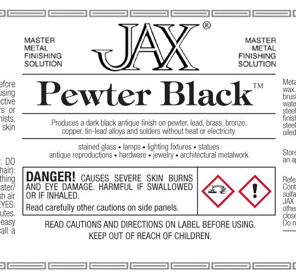 JAX Pewter Black label