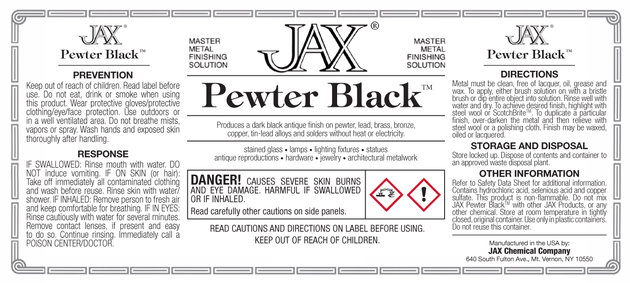 JAX Pewter Black