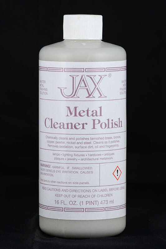 JAX Metal Cleaner Polish