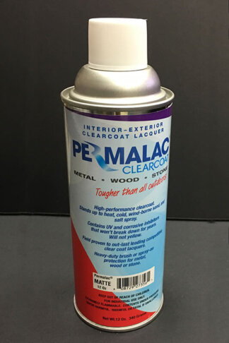Permalac Clearcoat Lacquer - Matte