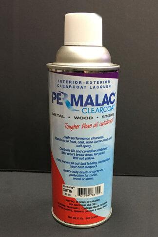 Permalac Clearcoat Lacquer - Satin