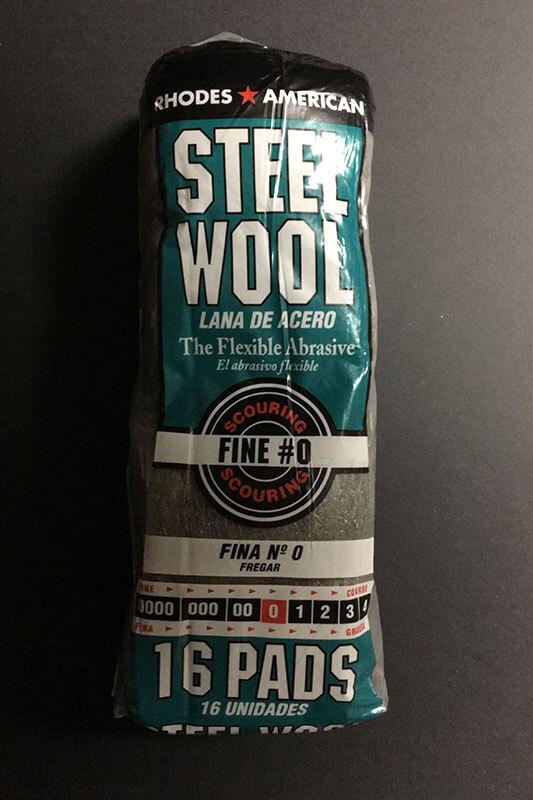 Steel Wool #0 - Medium-Fine
