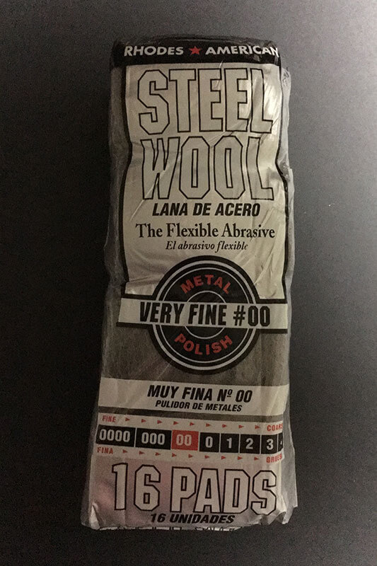 Steel Wool #00 - Fine