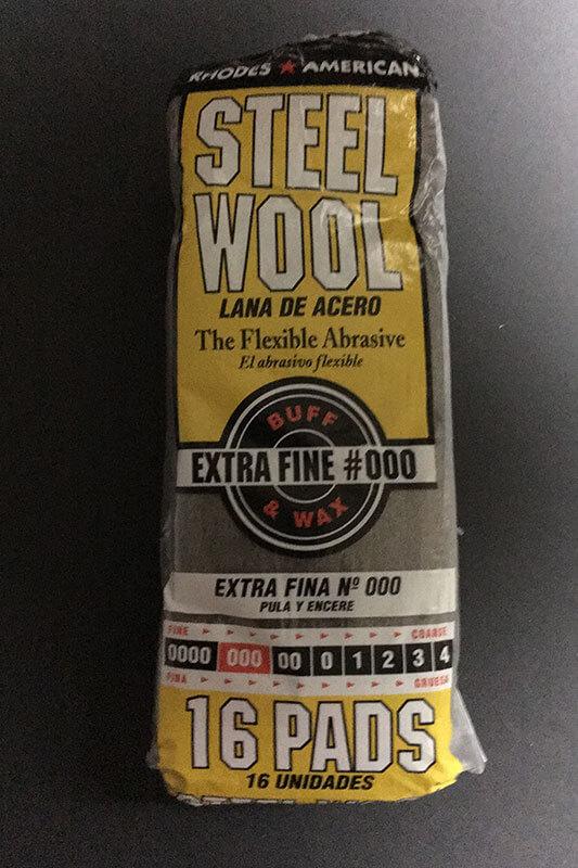 Steel Wool #000 - Extra Fine