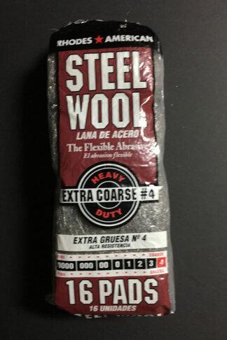 Steel Wool #4 - Extra Coarse