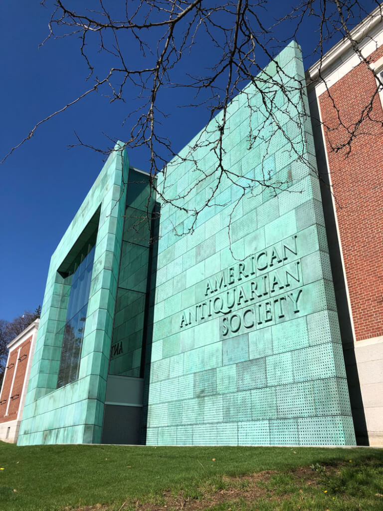 Exterior view of American Antiquarian Society, Expansion and Renovation