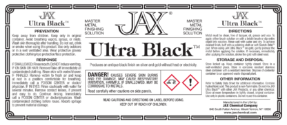 JAX Ultra Black label